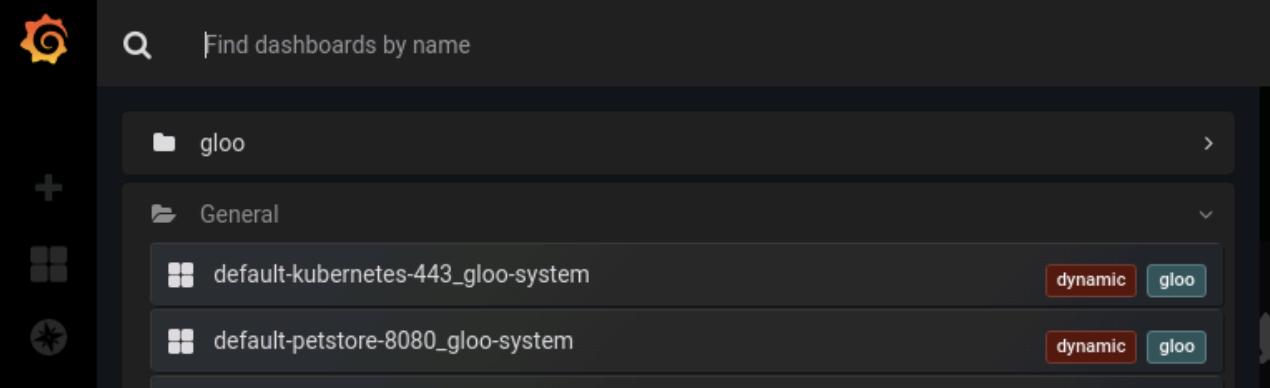 Gloo Edge dynamic upstream dashboards